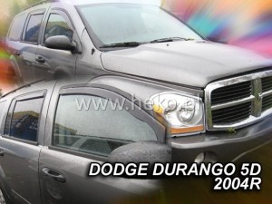 Wind deflectors DODGE Durango II 5d 2004-2010 (front only)