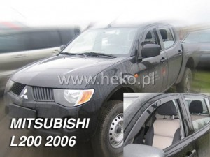 Owiewki MITSUBISHI L-200 IV 2 / 4d Double / Single Cab 06.2006-2016