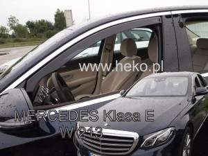 Wind deflectors MERCEDES E W213 4d 2016->