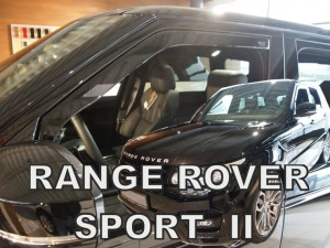 Wind deflectors LAND ROVER Range Rover Sport II 5d 2013-> (front only)