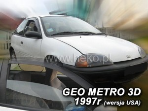 Wind deflectors GEO Metro III 3d 1995-1997 (USA) (front only)