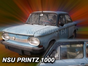 Wind deflector NSU Prinz 1000 2d 1964-1972 (stick-on)