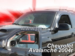 Wind deflectors CHEVROLET Avalanche 4d 2002-2006