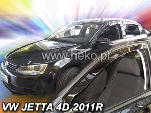 Wind deflectors VOLKSWAGEN Jetta 4d 2011-> sedan