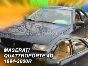 Wind deflectors MASERATI Quattroporte 4d 1994-2000 (rear deflectors included)