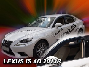 Wind deflectors LEXUS Is 4d 2013->