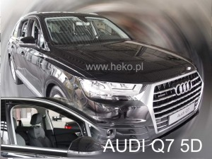 Wind deflectors AUDI Q7 II 5d 2016-> (front only)