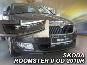 Winter cover SKODA Fabia II / Roomster 2010-> (bottom) (LIF->)