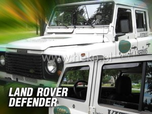 Wind deflectors LAND ROVER Defender 4d 1989-> (rear deflectors included)
