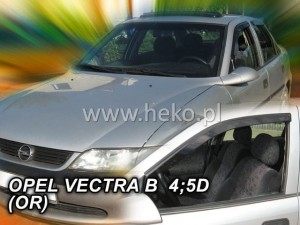 Wind deflectors OPEL Vectra B 4/5d 1996-2002 (stick-on) (front only)