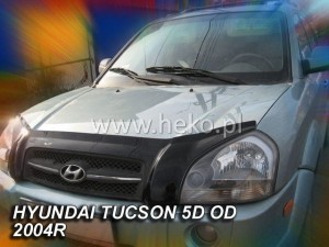 Wind deflector for front windscreen HYUNDAI Tucson 2004-2010 (stick-on)
