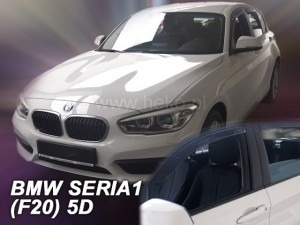 Wind deflectors BMW Seria 1 F20 5d 2011-> (rear deflectors included)