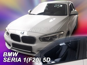Wind deflectors BMW Seria 1 F20 5d 2011->