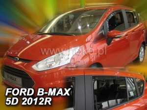 Wind deflectors FORD B-Max 5d 2012-> (rear deflectors included)