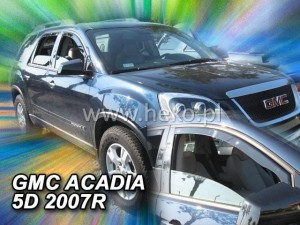 Wind deflectors GMC Acadia 5d 2006-> (front only)