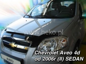 Wind deflector for front windscreen CHEVROLET Aveo II (stick-on)