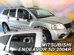 Wind deflectors MITSUBISHI Endeavor 5d 2004-> (rear deflectors included)