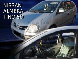 Wind deflectors NISSAN Almera Tino 5d 2000-2006 (front only)