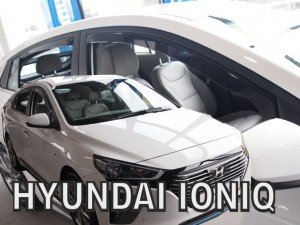 Wind deflectors HYUNDAI Ioniq 5d 2017-> (rear deflectors included)