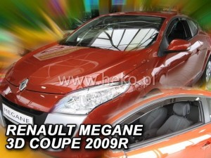 Owiewki RENAULT Megane Coupe 3d 2009-2015