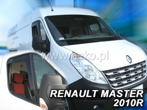 Owiewki RENAULT Master / OPEL Movano 2d 2010->