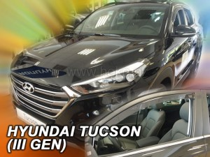 Wind deflectors HYUNDAI Tucson III 5d 2015-> (front only)