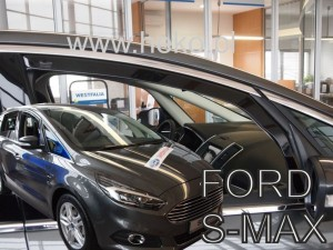 Wind deflectors FORD S-max II 5d 2016->