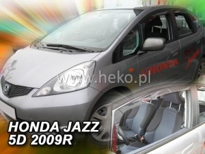 Wind deflectors HONDA Jazz 5d 2009-2015