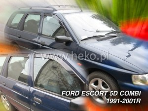 Wind deflectors FORD Escort 5d 1990-2001 wagon (rear deflectors included)