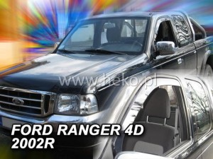 Wind deflectors FORD Ranger I 4d 1997-2007