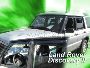 Wind deflectors LAND ROVER Discovery II 5d 1999-2004 (rear deflectors included)
