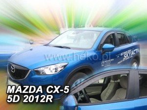 Wind deflectors MAZDA CX 5 5d 2011-2017