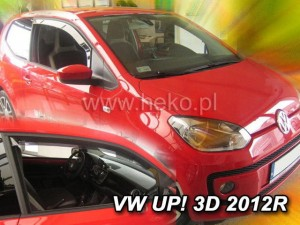 Wind deflectors VOLKSWAGEN UP! 3d 2012-> / SKODA Citigo 3d 2012-> (front only)