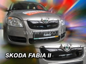 Winter cover SKODA Fabia II / Roomster ->07.2010 (top)