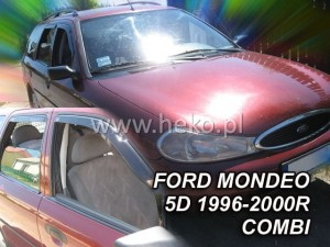 Wind deflectors FORD Mondeo MK2 5d 1996-2000 wagon (rear deflectors included)