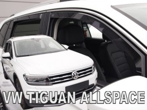 Wind deflectors VOLKSWAGEN Tiguan II Allspace 5d 2017-> (rear deflectors included)