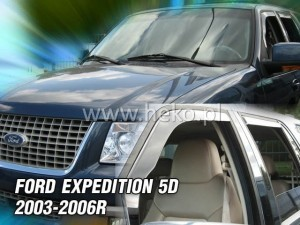 Wind deflectors FORD Expedition 5d 2003-2006 (front only)