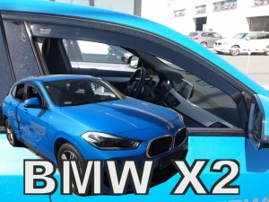 Wind deflectors BMW X2 F39 5d 2018-> (front only)