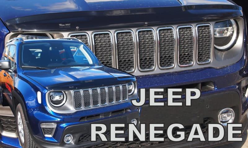 Wind Deflector For Front Windscreen Jeep Renegade 2014 Gt Heko