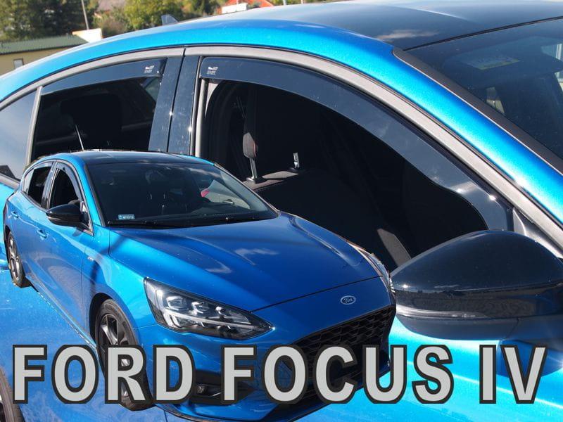 Wind Deflectors Ford Focus Mk4 5d 2018 Gt Htb Rear