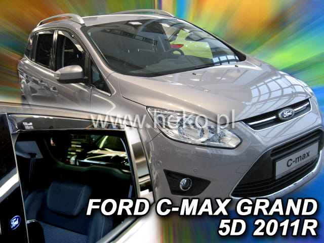 wind deflectors for ford b max 2016