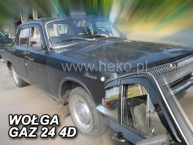 Windabweiser für Wolga GAZ-24 GAZ 24 GAZ 24-24 1970-1985 Limousine Stufenheck 4t